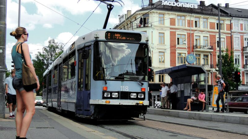 Slagsmål på trikk i Oslo