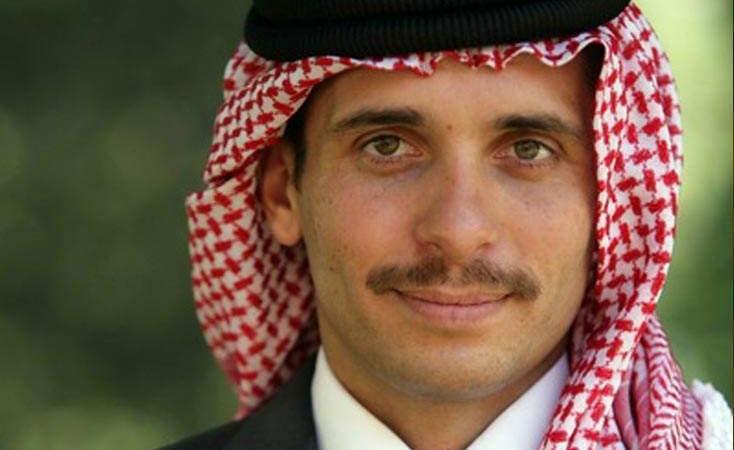 Jordansk prins viste seg med kongen
