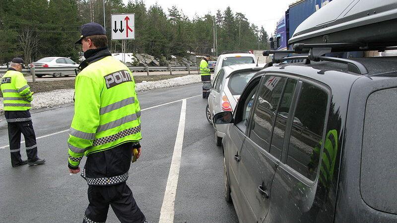 Rekordmange fartsbot i påskeferien