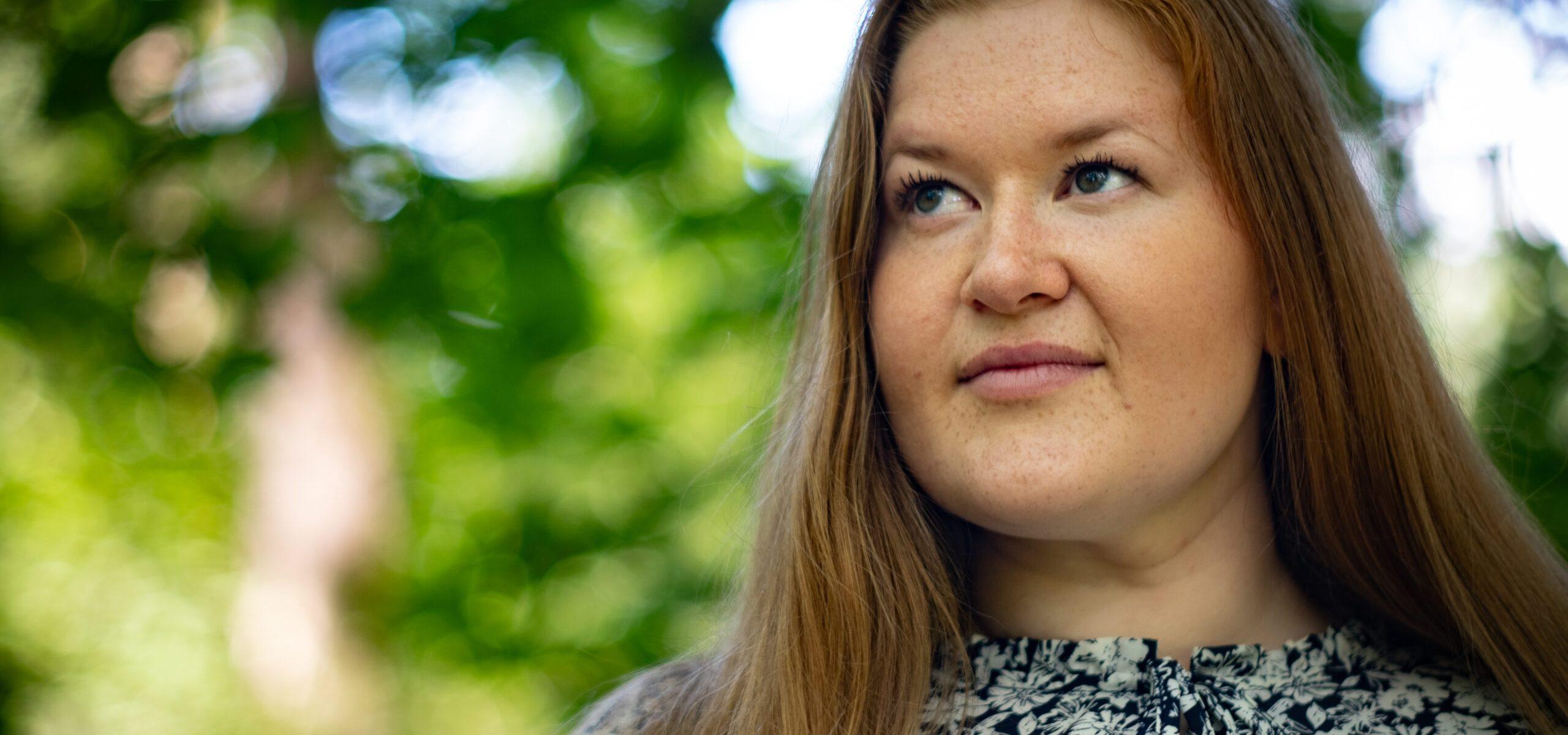 Synnøve Brøndbo Plassen. Foto av Zosha Warpeha.